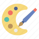 art, artist, brush, color, paint, painting, pallete