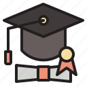 college, diploma, graduation, student