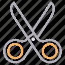 coupon, cut, education, scissor, stationary icon