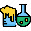 chemistry, education, laboratory, learning, school, science, study icon