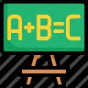 board, education, green, knowledge, learning, school, study icon