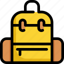 bag, education, learning, school, study, suitcase icon