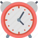 alarm, clock, morning, time, timetable, up, wake icon