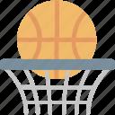 basketball, ball, game, hoop, play, score, sport