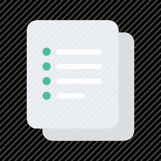 checklist, college, educate, education, school icon