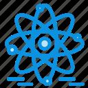 atom, education, nuclear icon