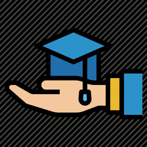 certificate, degree, diploma, education, graduation icon