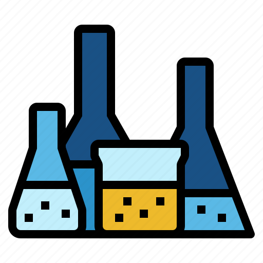 chemistry, education, experiment, investigation, science icon