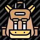 backpack, backpacker, bag, camping, school