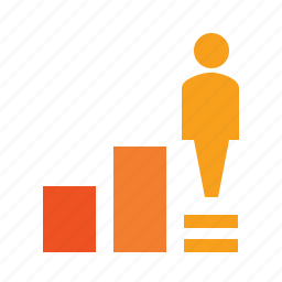career, growth, job, motivation, personal, position, self-development, success, up icon