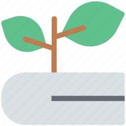 agricultural book, book, botany, ecology book, plant, plant science icon