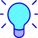 bulb, education, idea, lamp, light, light bulb, science