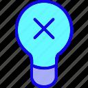 brain, bulb, creative, education, idea, incorrect, innovation