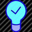brain, bulb, confirm, education, idea, innovation, light