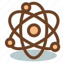 atom, chemistry, laboratory, science icon