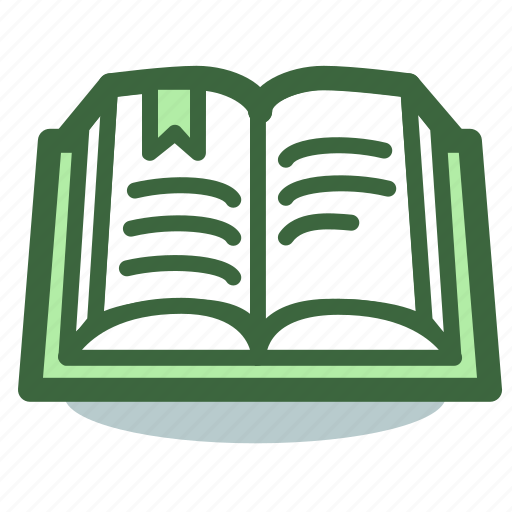 book, education, open, reading, study, textbook icon
