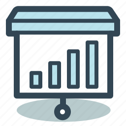 analytics, charts, graph, presentation, reports icon