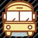 bus, education, school, transport