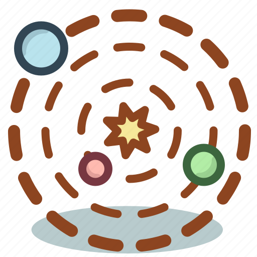 planets, science, solar, space, system icon