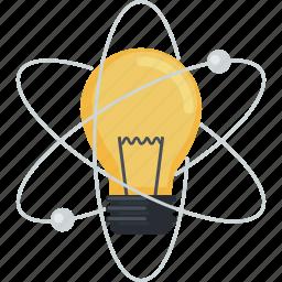 education, experiment, flat design, idea, invention, laboratory, science icon