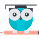 education, flat design, school, smart, solution icon