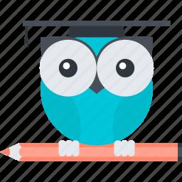 education, flat design, school, smart, solution icon