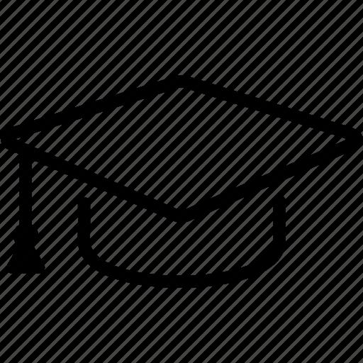 cap, education, graduation, knowledge, student, university icon