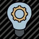 idea, bulb, light, education, school