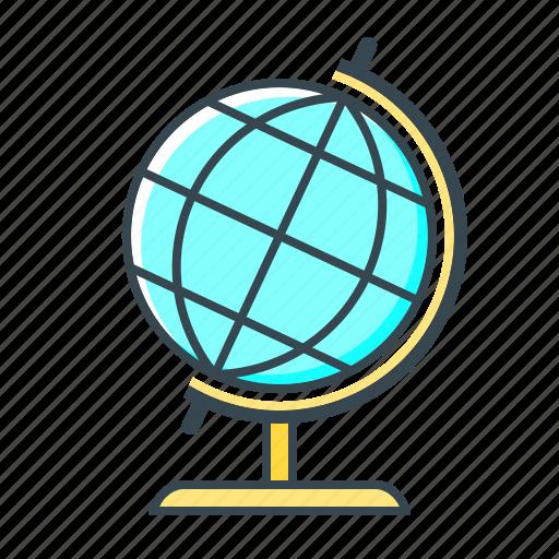 education, geography, global, globe, world icon
