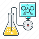 chemical, chemistry, experiment, modern, research, science, tube icon