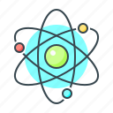 atom, atoms, core, molecule, physics, science icon