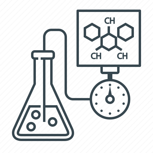 chemistry, experiment, flask, laboratory, modern, test, tube icon