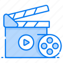 action, clapperboard, entertainment, filmmaking, movie making