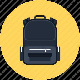 backpack, bag, education, knapsack, school, schoolbag, travel icon
