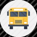bus, car, school, transport, trip, vehicle, travel