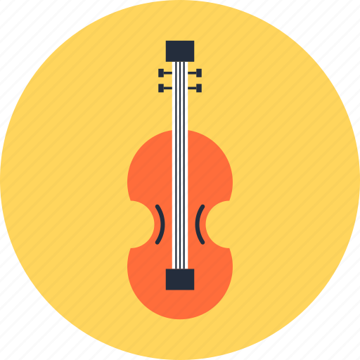 entertainment, guitar, instrument, music, play, sound, violin icon