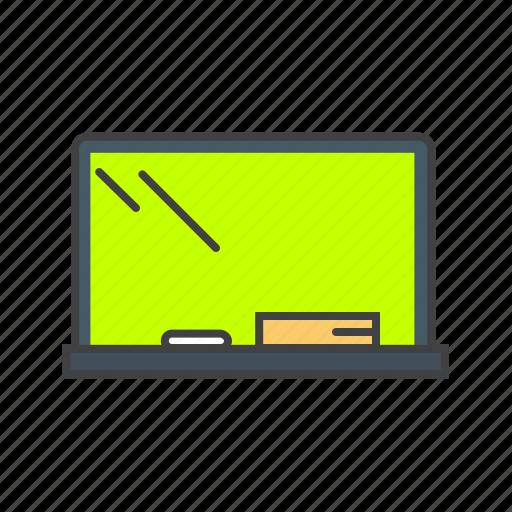 blackboard, chalkboard, classroom, education, presentation icon
