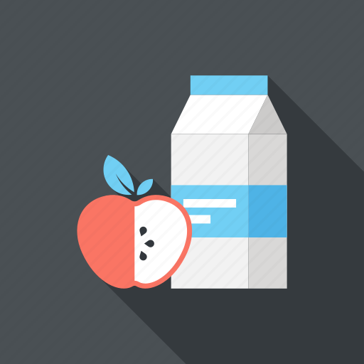 apple, beverage, breakfast, drink, food, lunch, meal icon