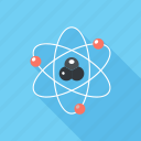 atom, experiment, nuclear, physics, power, research, science icon