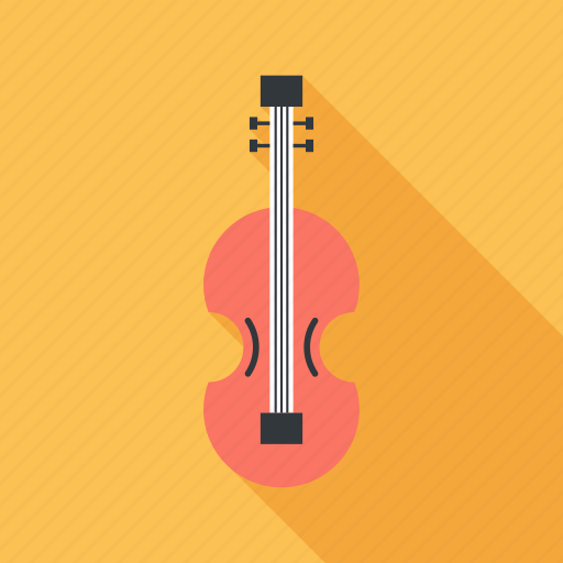 entertainment, guitar, instrument, music, play, sound, violin icon