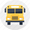 bus, car, school, transport, travel, trip, vehicle