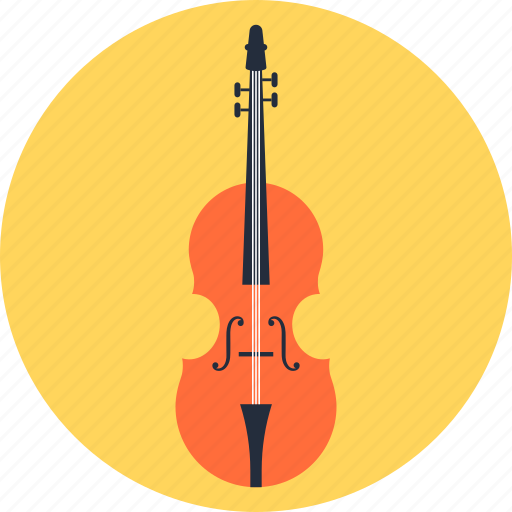 education, entertainment, instrument, music, play, sound, violin icon