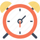 alarm, alert, clock, ring, time, timer, wake up icon