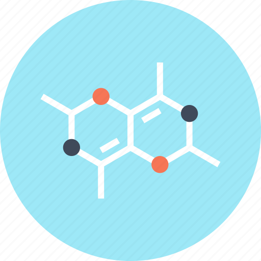 atom, chemistry, formula, molecule, research, science, study icon