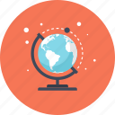 earth, education, geography, globe, map, navigation, world icon