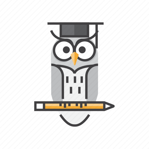 Education, knowledge, owl, university, wisdom, wise icon - Download on Iconfinder