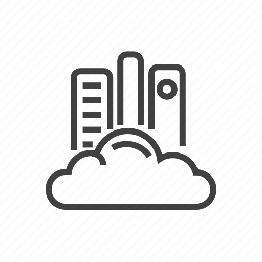 cloud, internet, library, network, online icon