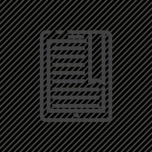 book, bookmark, e, online, reading, school icon