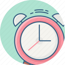alarm, attention, bell, caution, exclamation, time, warning icon