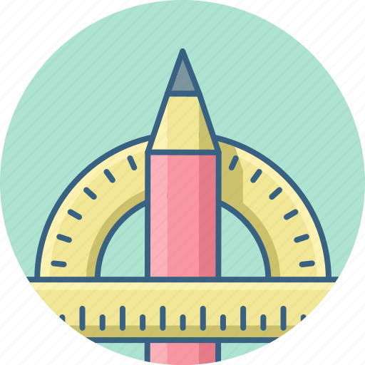 compass, design, drawing, geometry, shape, stationary, tool icon